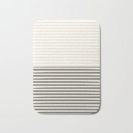 Brush Lines Pattern #society6 #decor #buyart Bath Mat