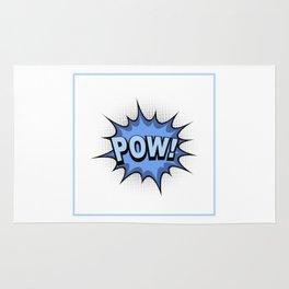 POW! Comic Book Rug