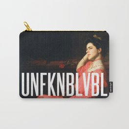 UNFKNBLVBL, Feminist Carry-All Pouch