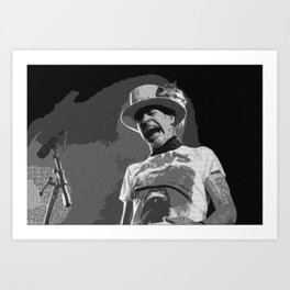 Ahead by a Century - Gord Downie from the Tragically Hip Art Print