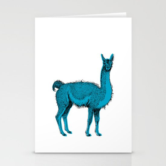 guanaco Stationery Cards