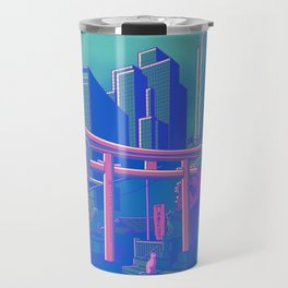 Neon Moon Travel Mug