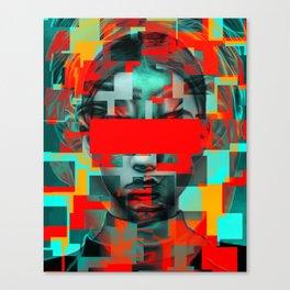 Digital G Canvas Print
