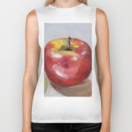 Fruits, apples and pear Biker Tank
