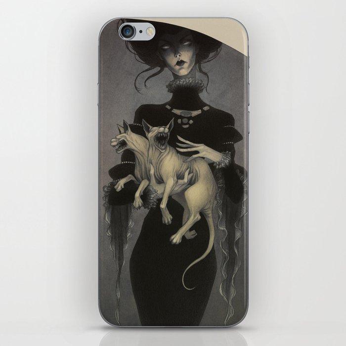 Monster Kitty iPhone Skin
