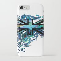 union jack iPhone & iPod Cases featuring Union Jack by Boz Designs