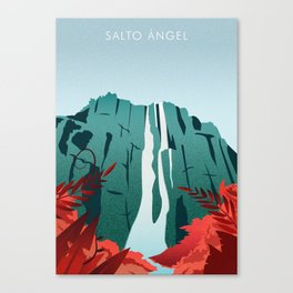 Salto Angel Canvas Print
