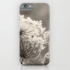 Lace in the Meadow BW II iPhone 6s Slim Case