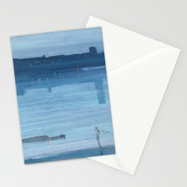 James Abbott McNeill Whistler - Nocturne- Blue and Silver Stationery Cards
