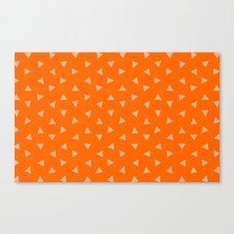 Festive Orange 2 Canvas Print