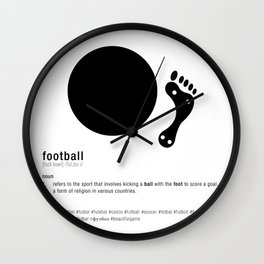Football is Referred as Wall Clock