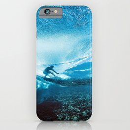 Wave Series Photograph No. 24 - Beneath the Surface iPhone Case