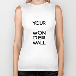 Wonderwall Biker Tank