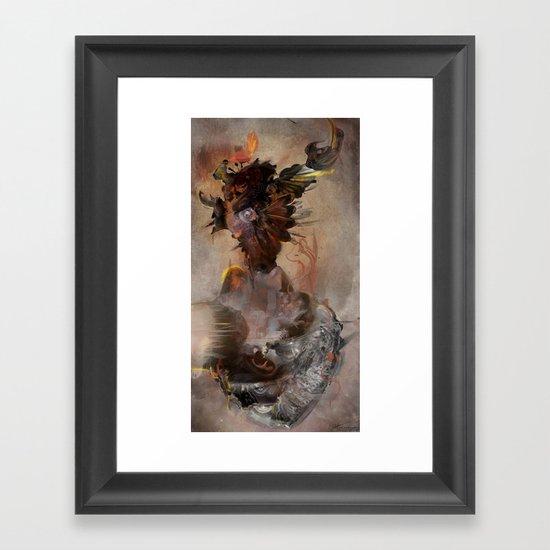 Vrika Framed Art Print