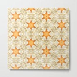 Golden Stars - 321 Metal Print