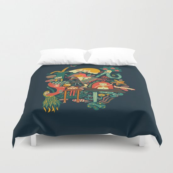 Crazy dream Duvet Cover