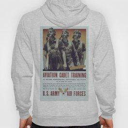 Vintage poster - Aviation Cadet Training Hoody