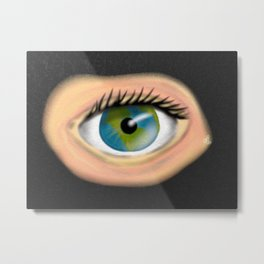 Eye of the World Metal Print