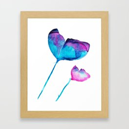 Beautiful Flowers Framed Art Print