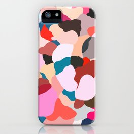 petals: abstract painting iPhone Case
