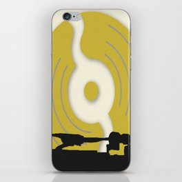 Put The Needle On The Record iPhone Skin
