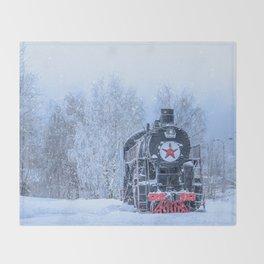 Time train Throw Blanket