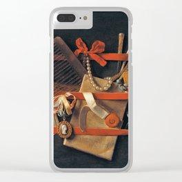Edwaert Colyer -  Still Life (Evert Calier) Clear iPhone Case