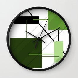 Angular Energy Wall Clock