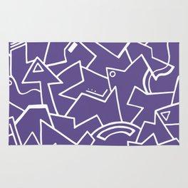 Ultra Violet Instinct Rug