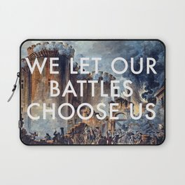 Glory of Storming the Bastille Laptop Sleeve