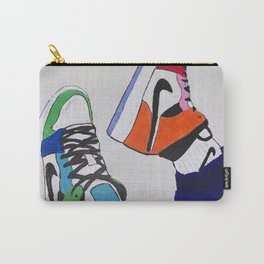 Sneaker Colorful Air Jordan 1's Carry-All Pouch