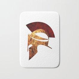 Spartan warrior Bath Mat