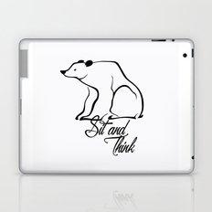Sitting bear Laptop & iPad Skin