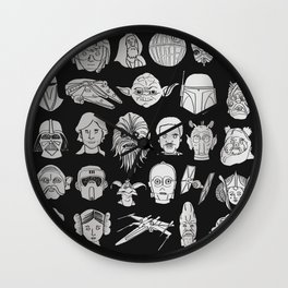 The force is strong Wall Clock