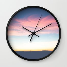 Marfa Lights Wall Clock