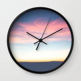 Marfa Lights Wall Clock