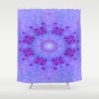 lavender Shower Curtains featuring Lavender... by Cherie DeBevoise