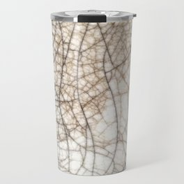 Raku crackles Travel Mug