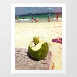 Summer in Phuket Art Print