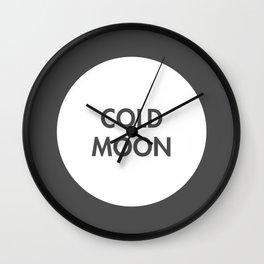 Cold Moon (Celtic) Wall Clock