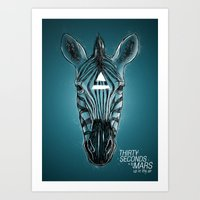 30 seconds to mars Art Prints featuring 30 seconds to mars by Aykut Tanay
