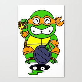 lucky turtle Canvas Print