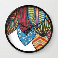 surf Wall Clocks featuring Surf by kartalpaf