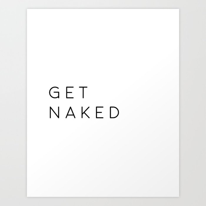 Bathroom Decor Printable Art Get Naked Wall Nursery Poster Typography Qu