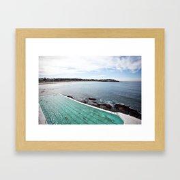 Bondi Icebergs Club Framed Art Print