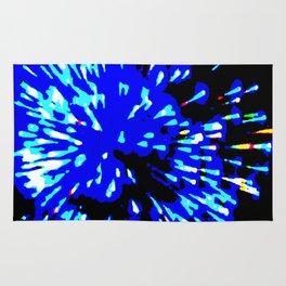 Blue Flash Rug