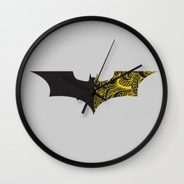 Laced BAT-man Wall Clock