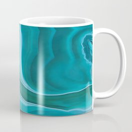 Agate sea green texture Coffee Mug