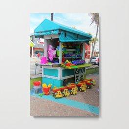 Beach Bum State of Mind -vertical Metal Print