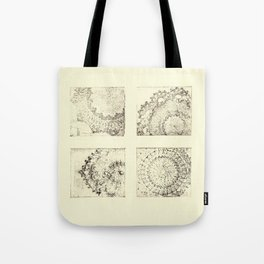 Double Doily Tote Bag